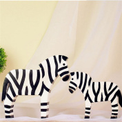 Interior decoration ornaments large black and white horse living room bedroom home furnishings