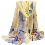 Women Scarves, Xinantime Floral Prints Shawl Chiffon Scarf