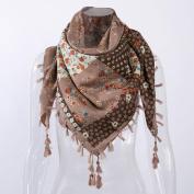 Women Scarf, Xinantime Fashion Lady Floral Prints Tassel Shawl Scarf
