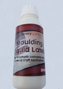 Liquid Latex 250ml Skin Safe for Costume and Decorative Makeup. By Vesey Gallery