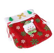 Wanshop Christmas Decor Bag,Decoration Creative Home Party Christmas Bag Souvenir Candy Makeup Bag