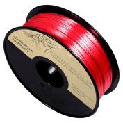 Silk 1kg 1.75mm Red - 3D Printer Filament - FrontierFila