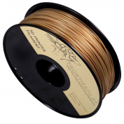 PLA 1kg 1.75mm Gold - 3D Printer Filament - FrontierFila
