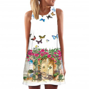 Women Dress, Familizo Boho Dress Beach Short Mini Dress