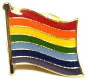 Rainbow Pride Flag Enamel Pin Badge