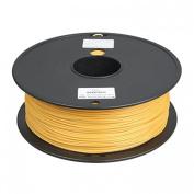 3D Printer supplies Filament RepRap ABS 1kg/roll Golden