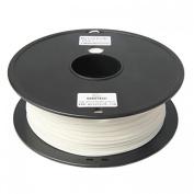 3D Printer supplies Filament RepRap PLA 1kg/roll White