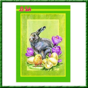 Le Suh Traditional Decoupage Sheets - A4 Book of 47 Easter Designs