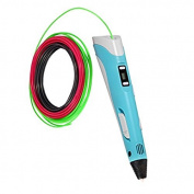 Pen 3d Global 3d V2/3d Fountain Pen/3d/Filament Free Included, 220 x 170 x 170 mm, light blue, 1