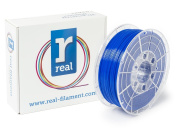 Real Filament 8719128328874 Real PETG, Spool of 1 kg, 1.75 mm, Opaque Blue