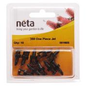 Neta Micro Irrigation One Piece Spray Jet 360 Degree 10 Pack