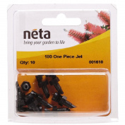 Neta Micro Irrigation One Piece Spray Jet 180 Degree 10 Pack
