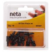 Neta Micro Irrigation One Piece Micro Spray Jet 90 Degree 10 Pack
