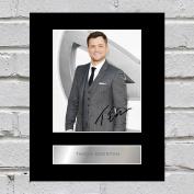 Taron Egerton Signed Mounted Photo Display