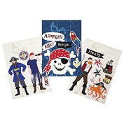 Meri Meri Ahoy There Pirate Wall Stickers-18 ct