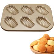 Mromick 6 Shell cake Mould baking tray