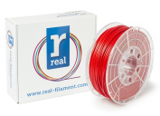 Real Filament 8719128325231 Real PLA, Spool of 1 kg, 2.85 mm, Red