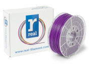 Real Filament 8719128325224 Real PLA, Spool of 1 kg, 2.85 mm, Purple