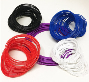 NuNus MultiColor Set Flexible Rubber Filament 3mm4 Colours with each 5 metres