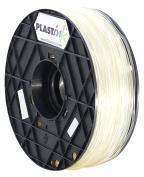 Plastink RBR300CY05 Rubber Filament for 3D Printer, 3 mm Diameter, Crystal