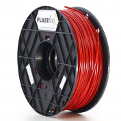 Plastink ABS300RD1 ABS Filament for 3D Printer, 3 mm Diameter, Red