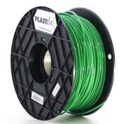 Plastink PLA300GR1 PLA Filament for 3D Printer, 3 mm Diameter, Green