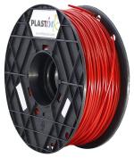 Plastink PLA300RD1 PLA Filament for 3D Printer, 3 mm Diameter, Red