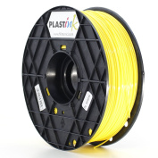 Plastink ABS175YL1 ABS Filament for 3D Printer, 1.75 mm Diameter, Yellow