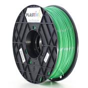Plastink ABS300GR1 ABS Filament for 3D Printer, 3 mm Diameter, Green