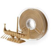 BuildTak PM70020 Polymaker PolyWood Filament, 2.85 mm Diameter, 300 g, 0.30 kg Spool, Wood Mimic Brown