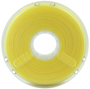 BuildTak PM70042 PolyPlus PLA Filament featuring Jamfree Technology, 0.75 kg Spool, 3.00 mm Diameter, Translucent Yellow