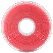 BuildTak PM70040 PolyPlus PLA Filament featuring Jamfree Technology, 0.75 kg Spool, 3.00 mm Diameter, Translucent Red