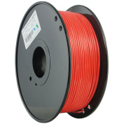 YS Filament YS-2,85-MABS-R-1000 YS Tangle Free 3D Filament, Modified ABS 2,85 mm, 1 kg, Less Warping Issue For Big Parts And High Strength, Red