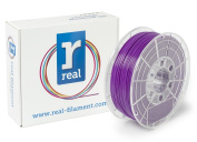 Real Filament 8719128324937 Real PLA, Spool of 1 kg, 1.75 mm, Purple