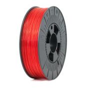 ICE FILAMENTS ICEFIL1PET154 PET Filament, 1.75 mm, 0.75 kg, Transparent Romantic Red