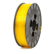 ICE FILAMENTS ICEFIL1PET156 PET Filament, 1.75 mm, 0.75 kg, Transparent Young Yellow