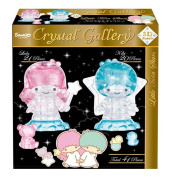 Three-dimensional puzzle HAN-06568 little twin Stars crystal gallery little twin Stars 41 pieces Hanayama gift birthday present transparence puzzle solid puzzle