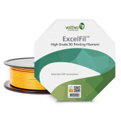 Voltivo ExcelFil ABS Bling Gold 2.85mm 3D Printing Filament