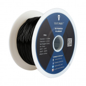 SainSmart 21-028-227 Flexible TPU Filament for 3D Printers, 1.75 mm, 1 kg, Black