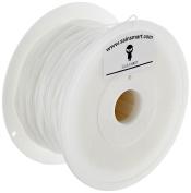 SainSmart 21-028-221 Flexible TPU Filament for 3D Printers, 1.75 mm, 1 kg, White