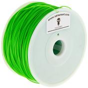 SainSmart 21-028-208 HIPS Filament for 3D Printers, 1.75 mm, 1 kg, Green