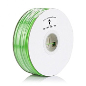 SainSmart 21-028-104ABS Filament for 3D Printers, 1.75 mm, 1 kg/2.2 lb., Green