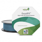 voltivo ef-abs-300-ckblu 3D Printing Filament