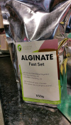 Large Bag of Mould Making Alginate. Skin Safe. 550g Slower Setting. By Vesey Gallery