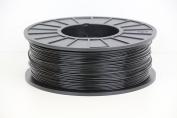 1KG spool of Black ABS 3D printer filament 1.75mm by technologyoutlet