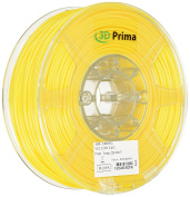 3D Prima 3DPABS300YL Print Filament, ABS, 3 mm, 1 kg Spool, Yellow