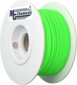 MG Chemicals PLA 3D Printer Filament, 1.75 mm, 0.5 kg, Glow in the Dark - Green