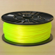 1KG spool of Technologyoutlet YELLOW 3.0mm PLA filament european made premium quality for 3D printers