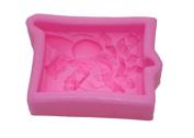 YBC 3D Silicone Fondant Cake Mould Flower Lace Decortaion DIY Baking Chocolate Sugarcraft Mould