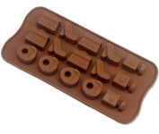 ZCSMg Creative Silicone Bag /Camera/ Phone /Shoes Shaped Cake Chocolate Candy Ice Mould